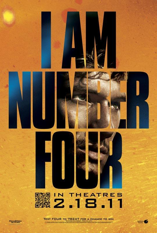 I am number four movie psoter