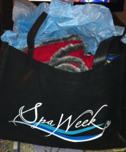 Spa Week Gift Bag Spring 2011