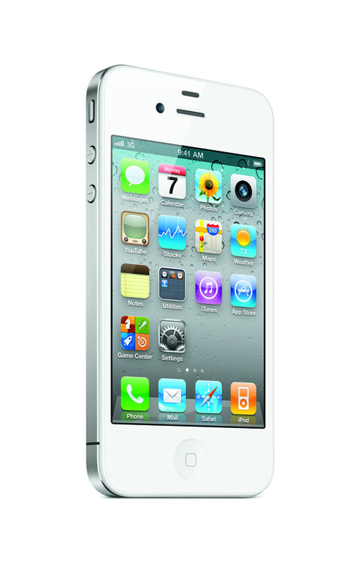 iPhone 4 in white