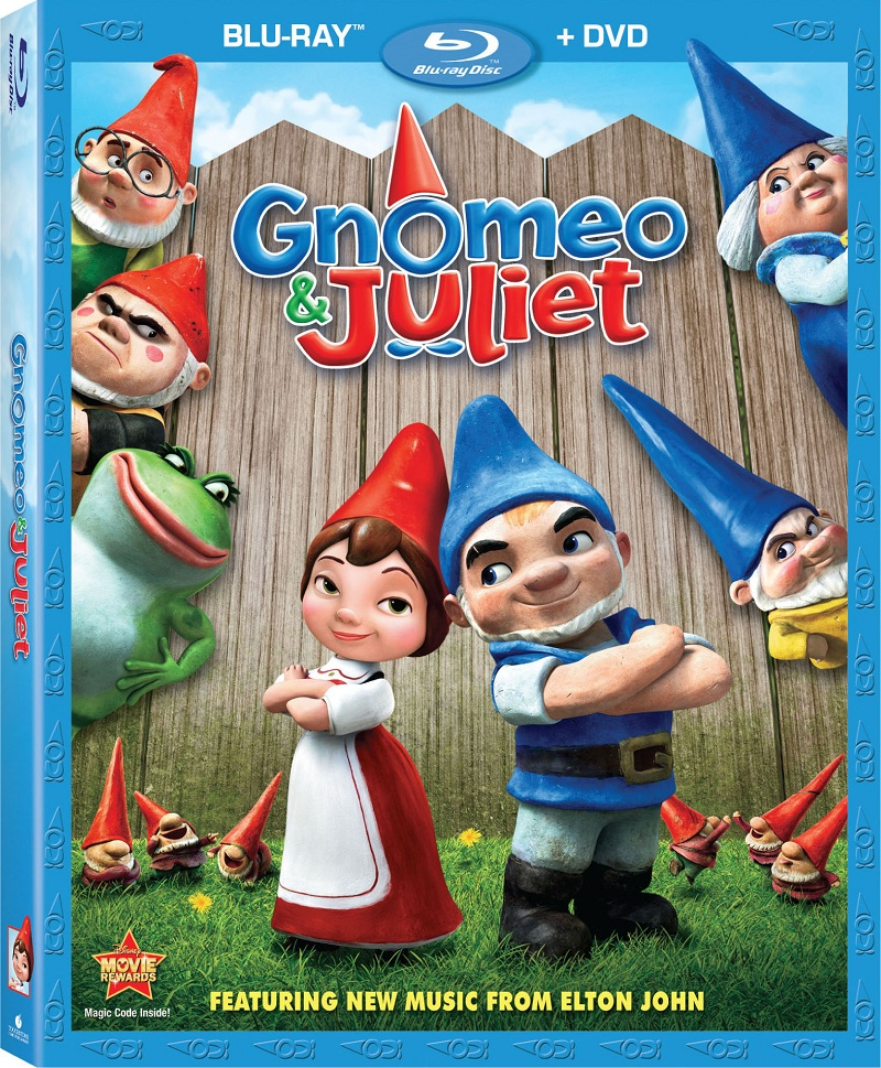 Gnomeo & Juliet Combo Pack