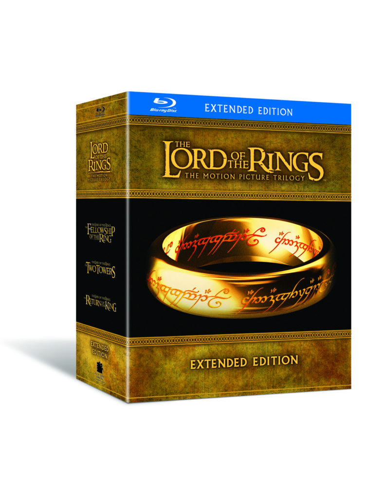 Lord of the Rings Extended Edition (Blu Ray)