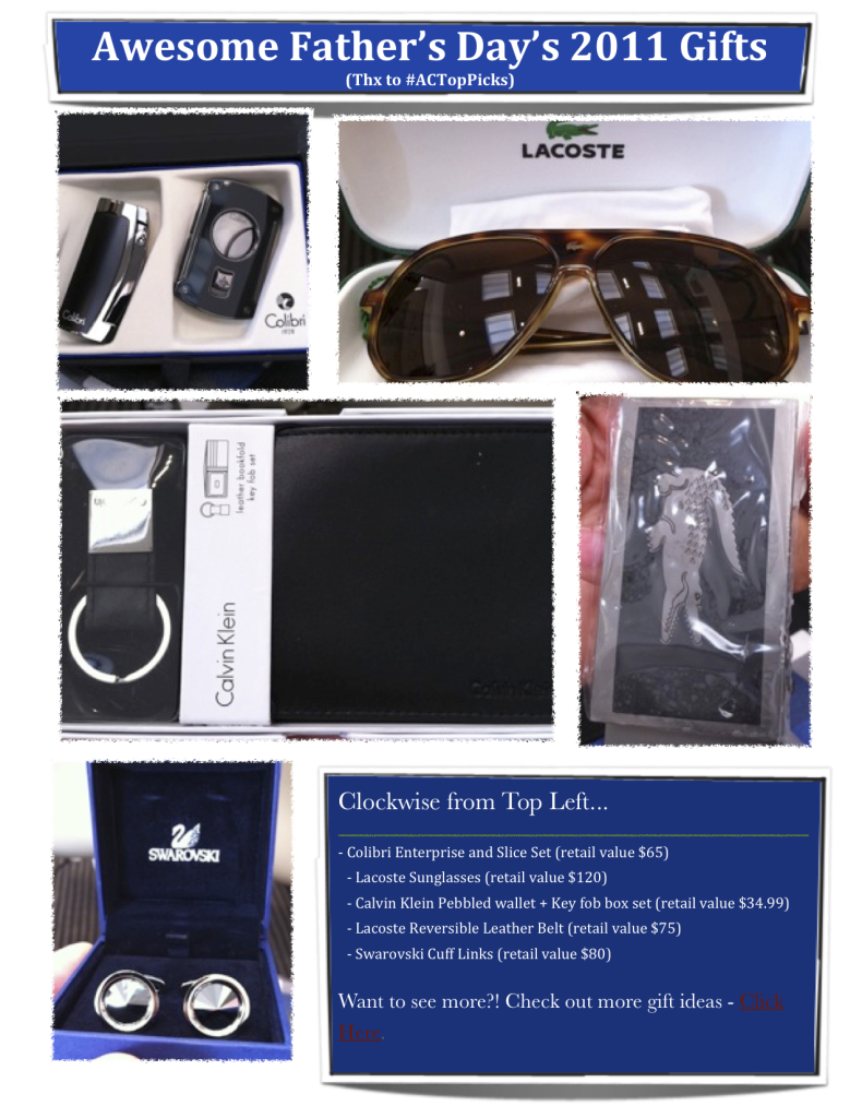 Accessories council father's day gifts