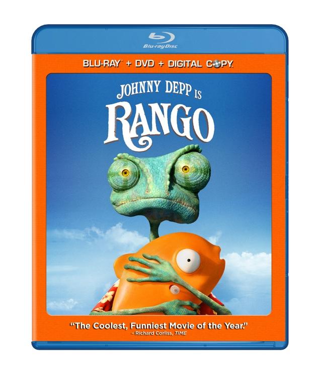 Rango Blu-ray dvd