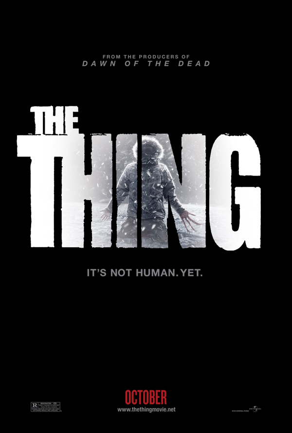 The Thing 2011 movie poster