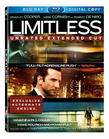 Limitless Blu Ray dvd