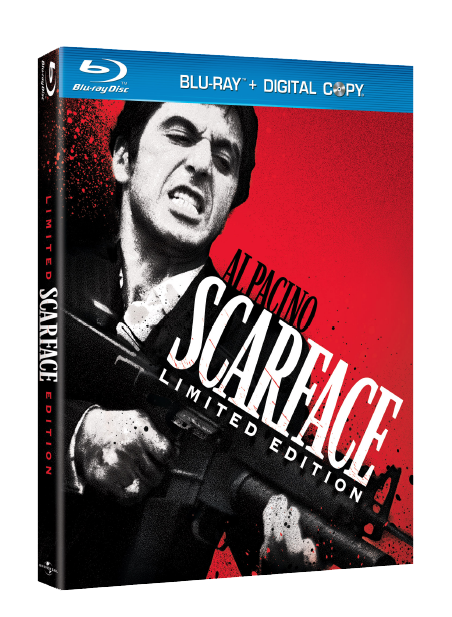 Scarface Special Limited Edition Blu-ray DVD