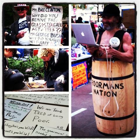 Zuccotti Park Occupy Wall Street