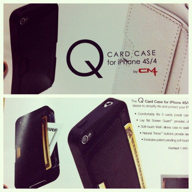 CM4's Q Card iPhone 4 Case