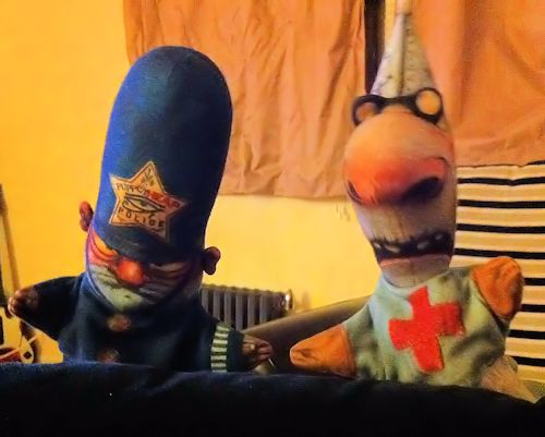 Puppet Heap Playthings: Doctor & Constable