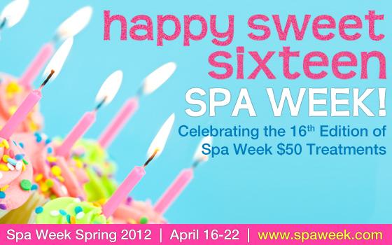 Spa Week Spring 2012