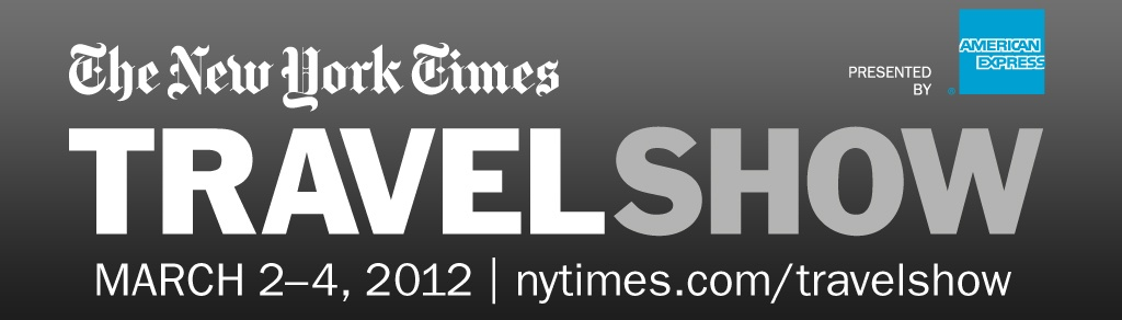 The New York Times Travel Show 2012 logo