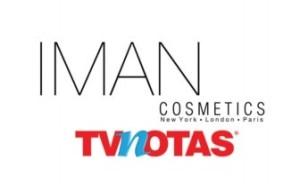 IMAN COSMETICS TV NOTAS LOGOS