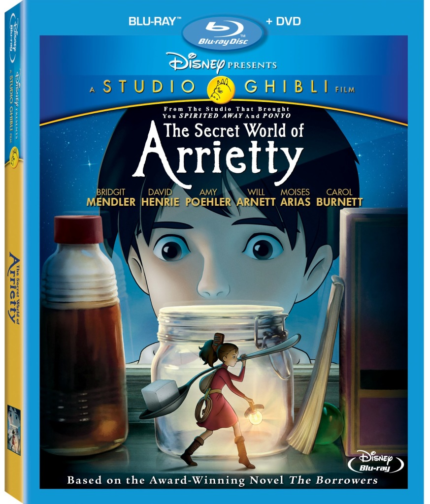 The Secret World Of Arrietty Bluray