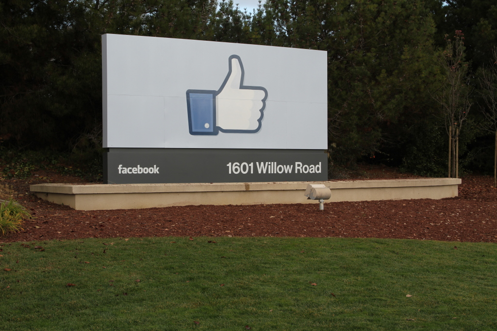 FB Like sign