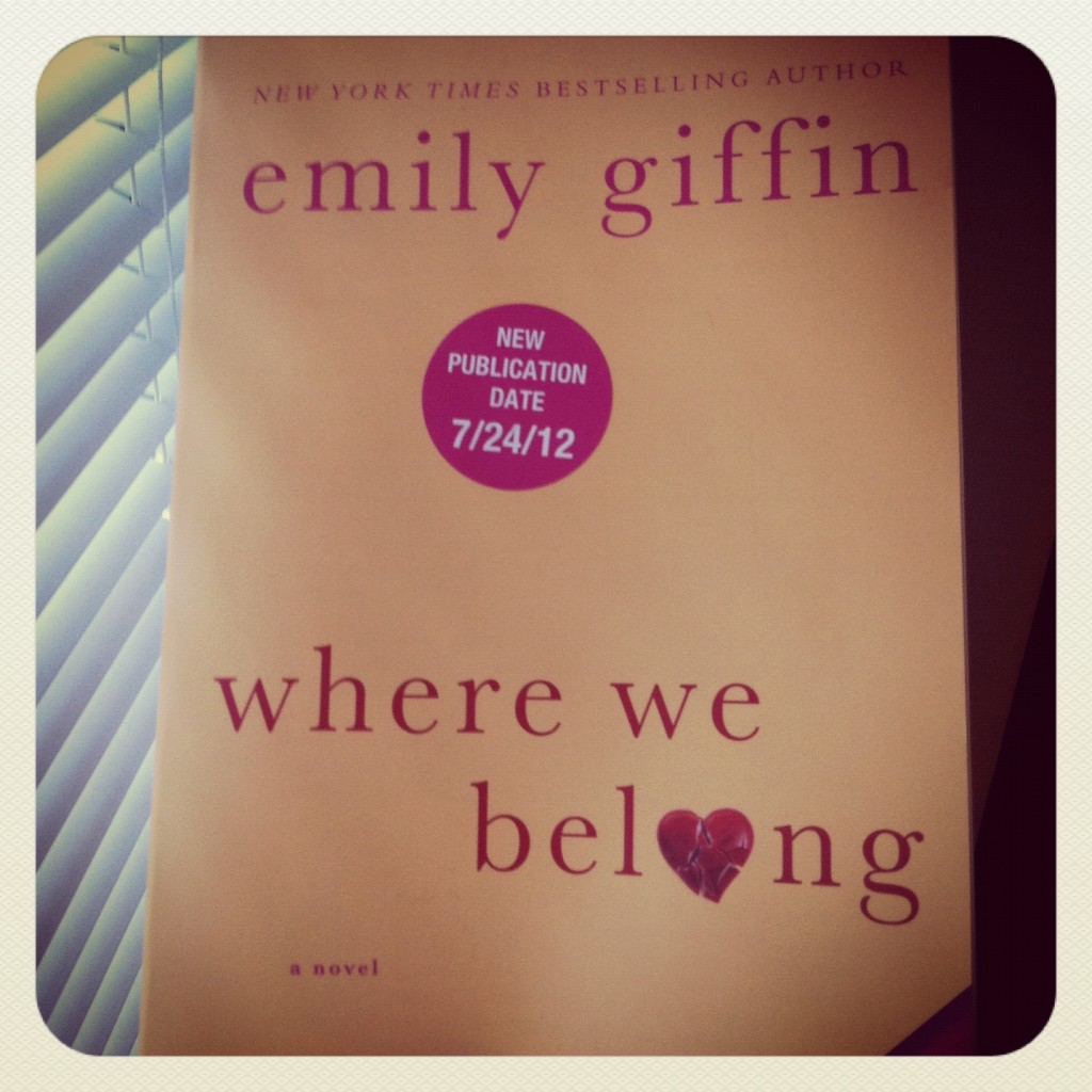 Emly Giffin Where We Belong