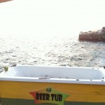 Beer Tub at Rick's Cafe
