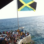 Jamaican Flag at Rick's cafe