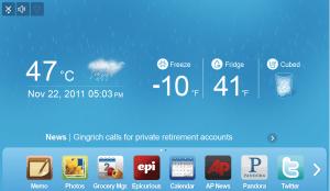 Samsung Refrigerator Home Rain Screen