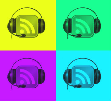 Podcast popart