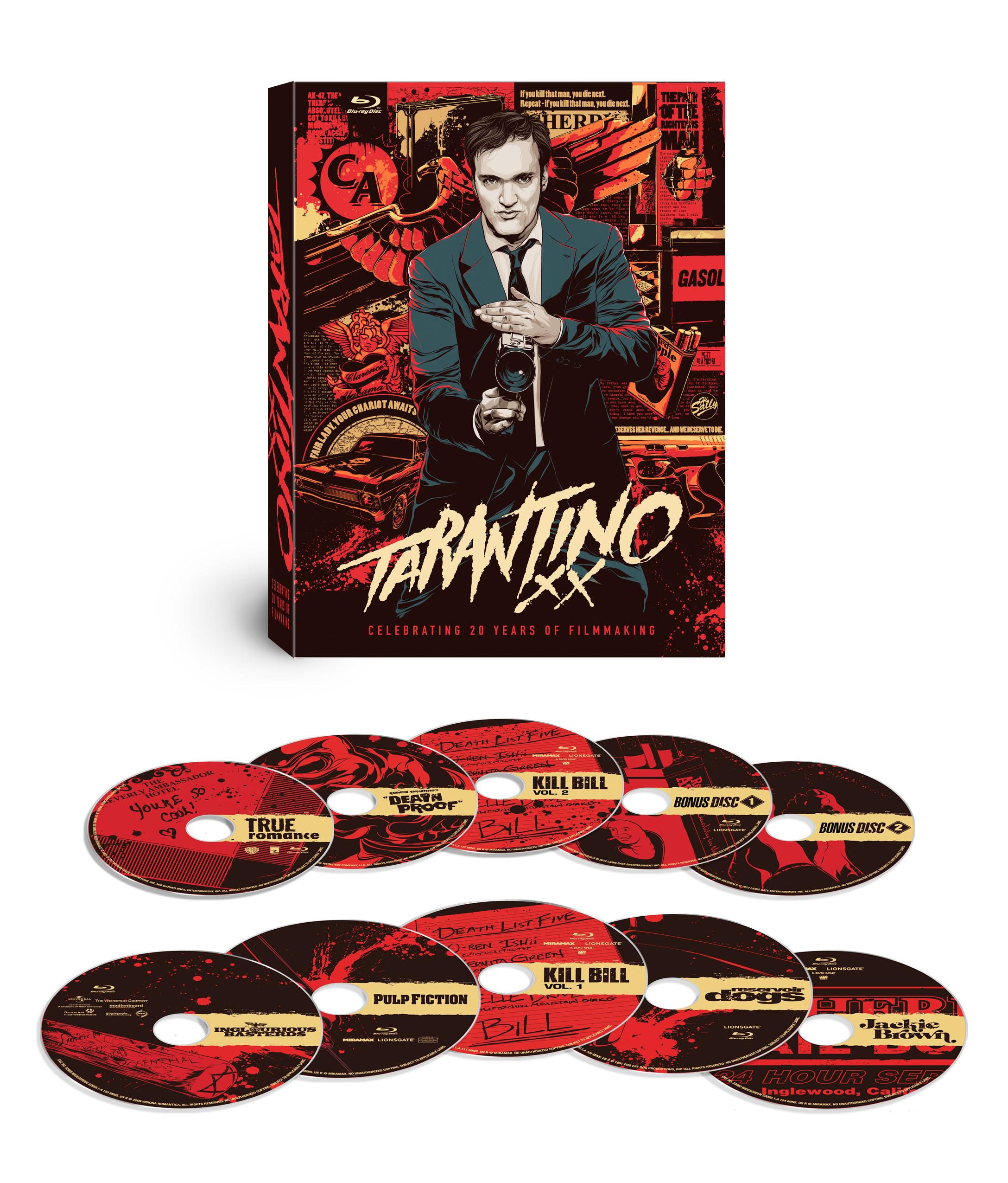 Tarantino XX, The Expendables 2 on DVD Tuesday 11/20/12
