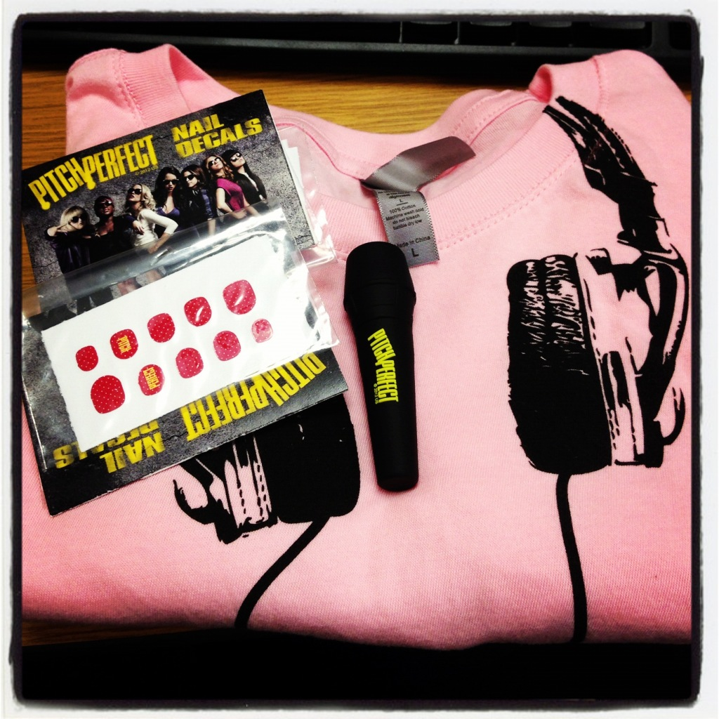 Pitch Perfect Prize pack giveaway