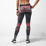 Nike Women's Holiday tights back view