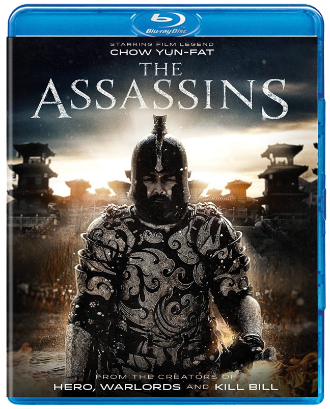 The Assassins Blu-ray DVD cover