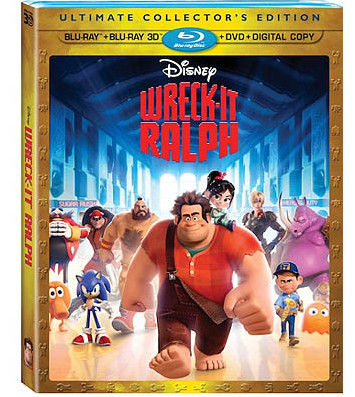 Wreck-It Ralph Blu-ray contest