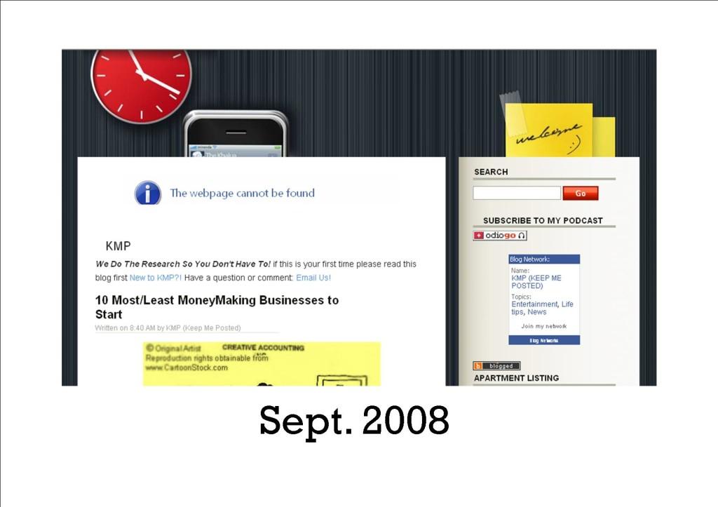KMP Blog 2008