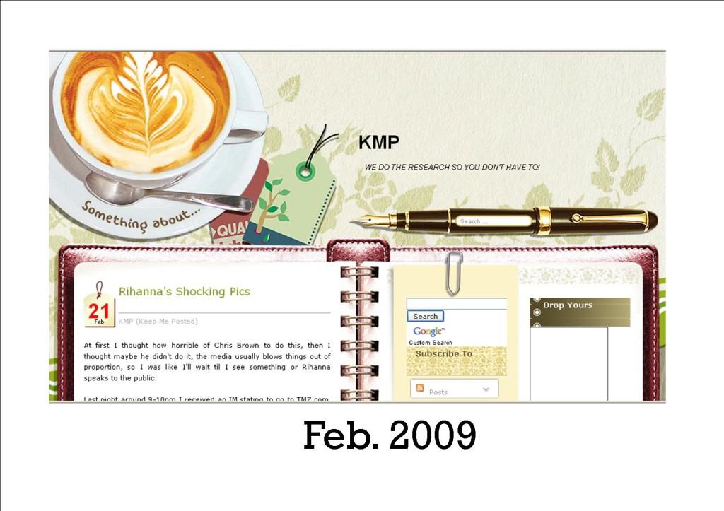 KMP Blog 2009