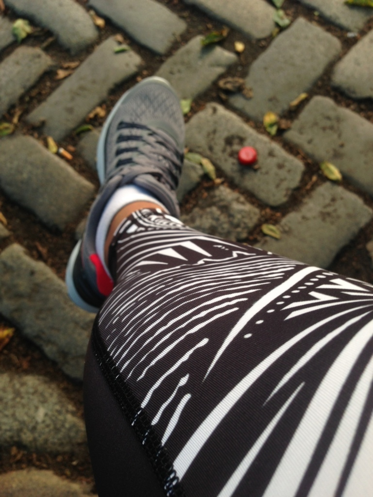 Running Pic Nike Tattoo Tech Tights