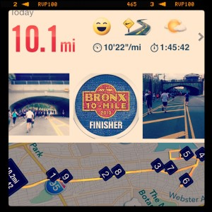 The Bronx 10-mile run