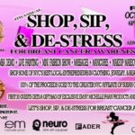 shop sip and de-stress