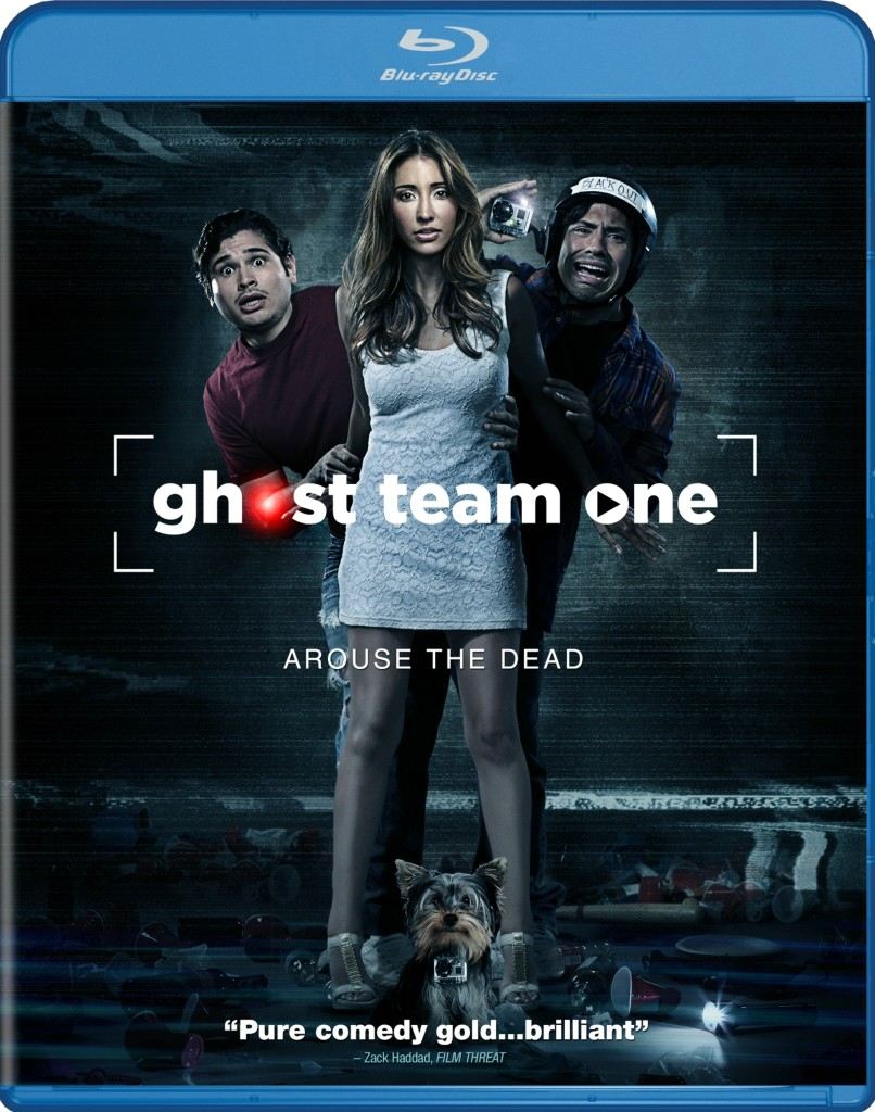 Ghost Team One Bluray cover