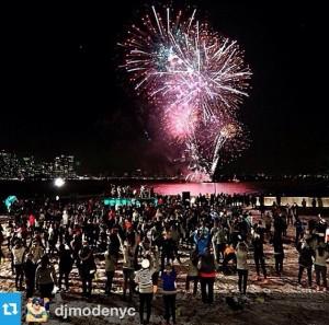 EllisIsland Fireworks