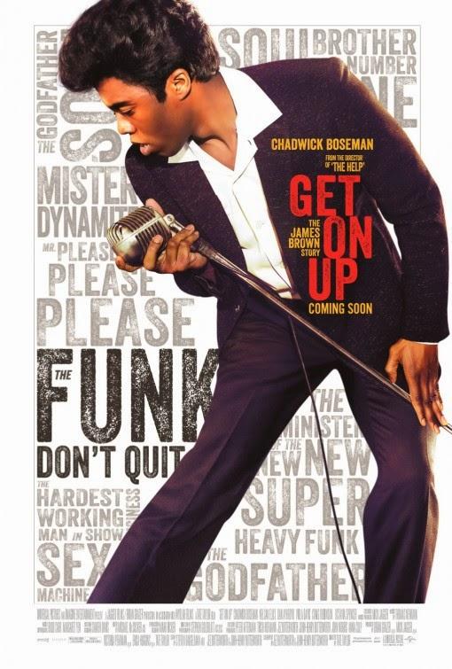 Get On Up Movie Poste