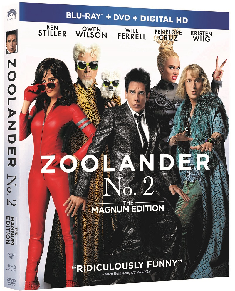 Zoolanderblurray