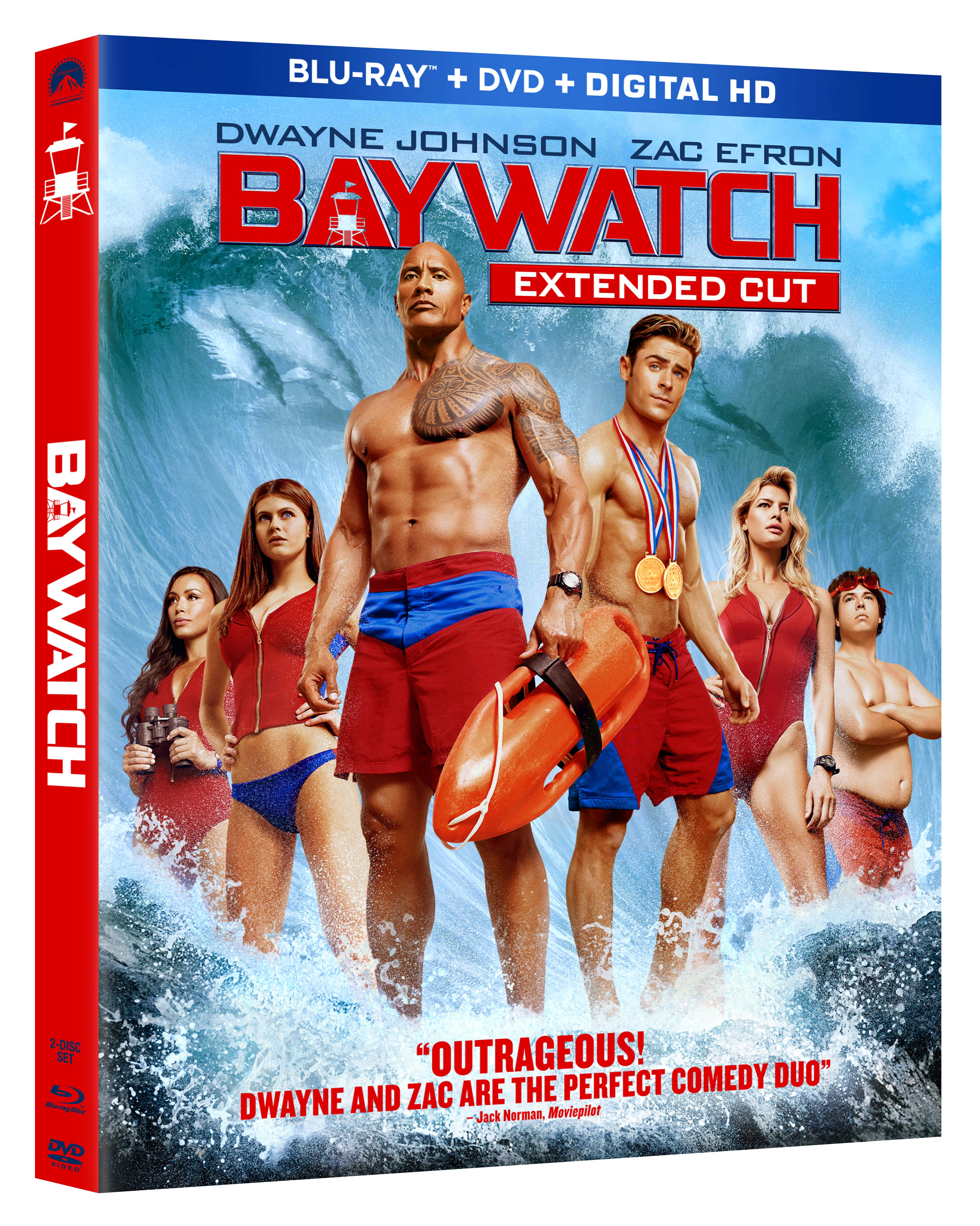 BAYWATCH – DVD Giveaway