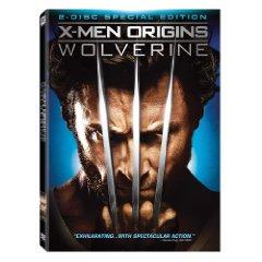 XMen Wolverine dvd cover