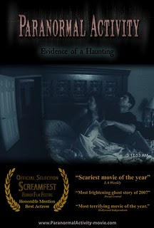 Paranormal Activity 1 poster
