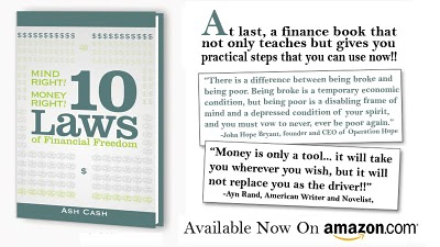 mind right, money right: 10 laws to financial freedom